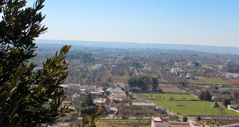 landscape of Valle d'Itria